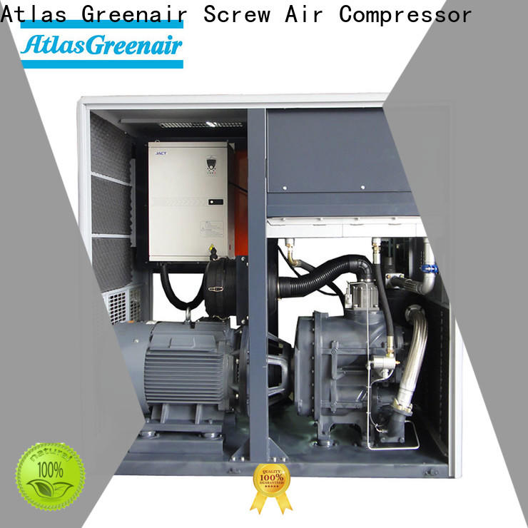 Atlas Greenair Screw Air Compressor high quality variable speed air compressor with an asynchronous motor for tropical area