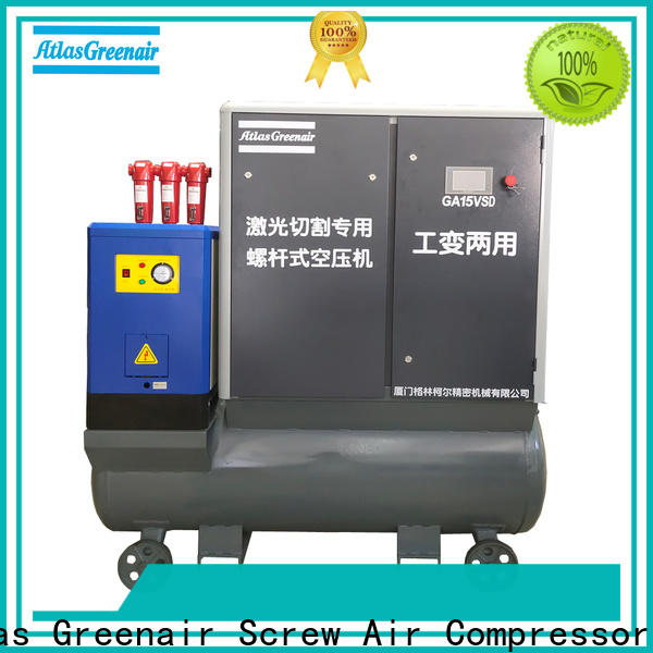 Atlas Greenair Screw Air Compressor variable speed air compressor manufacturer for sale