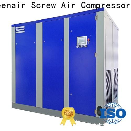 two stage variable speed air compressor with four pole motor for sale