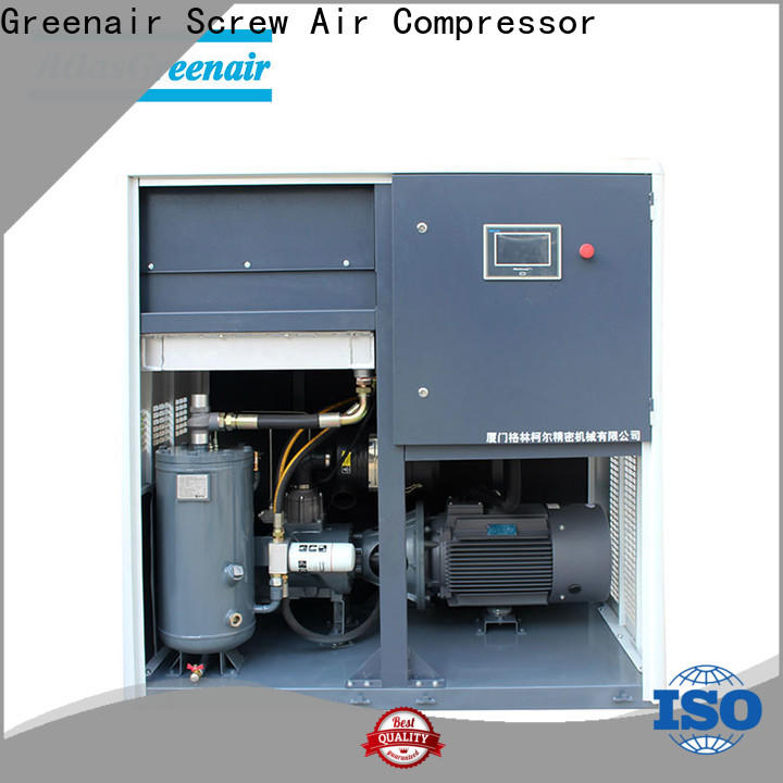 Atlas Greenair Screw Air Compressor vsd compressor atlas copco factory for tropical area