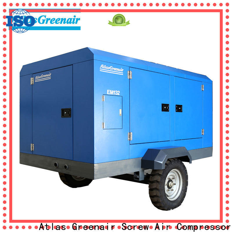 customized portable screw compressor for busniess for tropical area