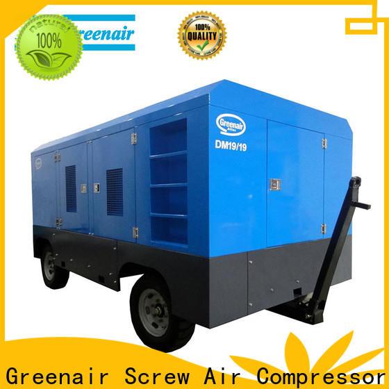 Atlas Greenair Screw Air Compressor best portable diesel air compressor for busniess design