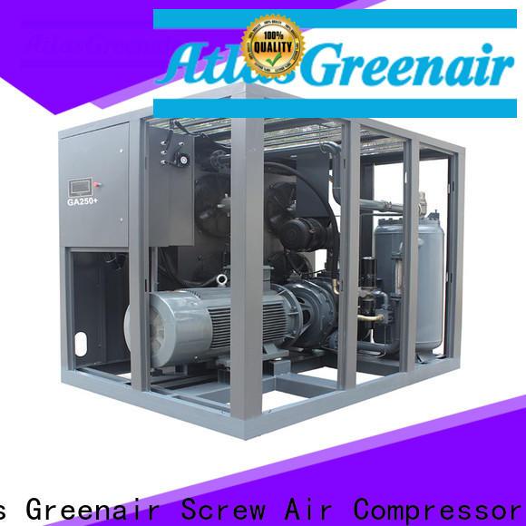 Atlas Greenair Screw Air Compressor atlas copco screw compressor for busniess for tropical area