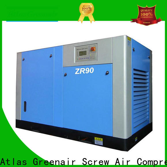 Atlas Greenair Screw Air Compressor oil free rotary screw air compressor for busniess for sale