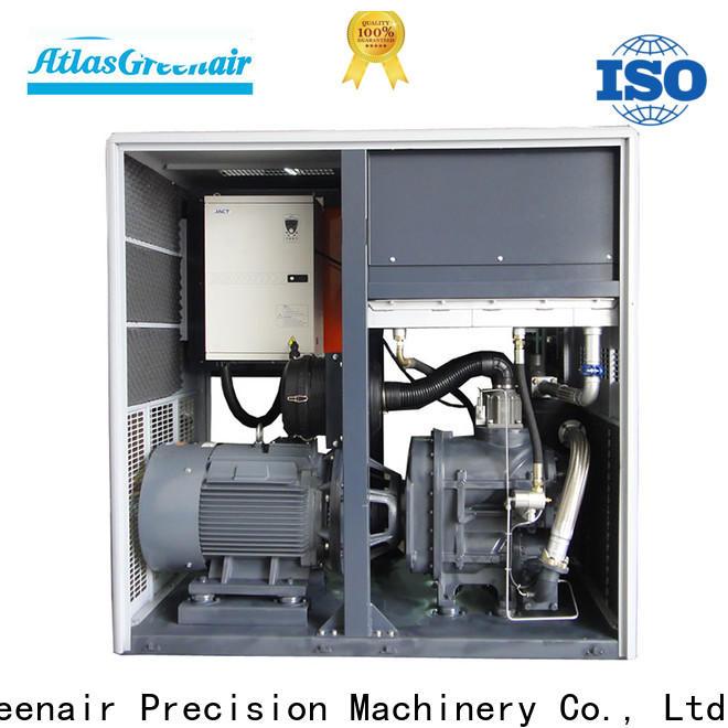 Atlas Greenair Screw Air Compressor new vsd compressor atlas copco for busniess for tropical area