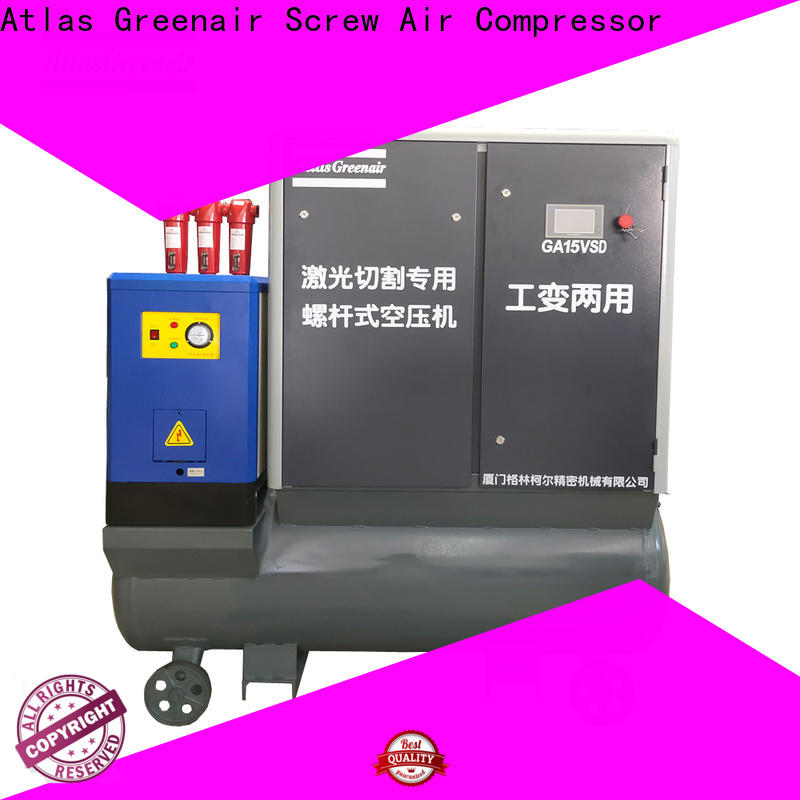 Atlas Greenair Screw Air Compressor vsd compressor atlas copco company for tropical area