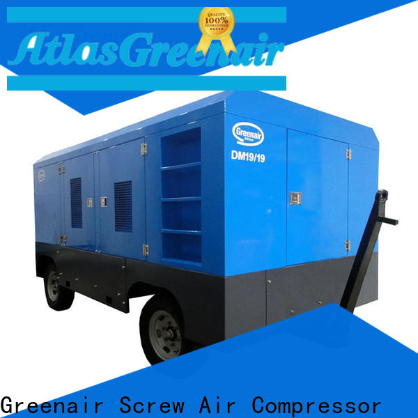 wholesale portable diesel air compressor supplier design