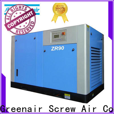 Atlas Greenair Screw Air Compressor oil free rotary screw air compressor manufacturer for sale