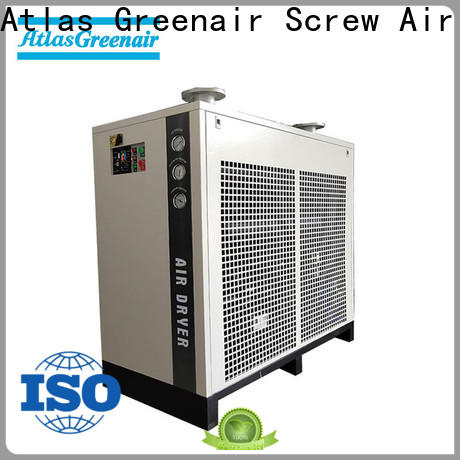 Atlas Greenair Screw Air Compressor air dryer for compressor with a superior electronic drain valve for tropical area