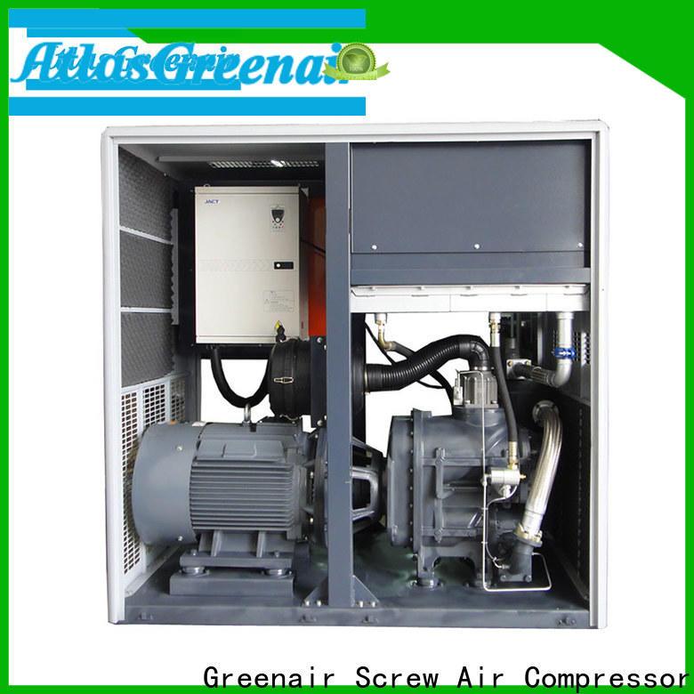 Atlas Greenair Screw Air Compressor custom vsd compressor atlas copco company for tropical area
