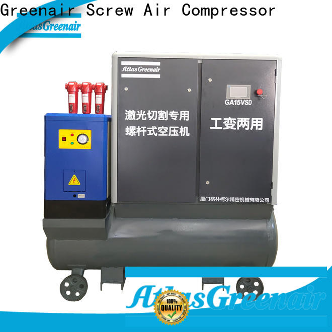Atlas Greenair Screw Air Compressor professional variable speed air compressor with a single air compressor for sale
