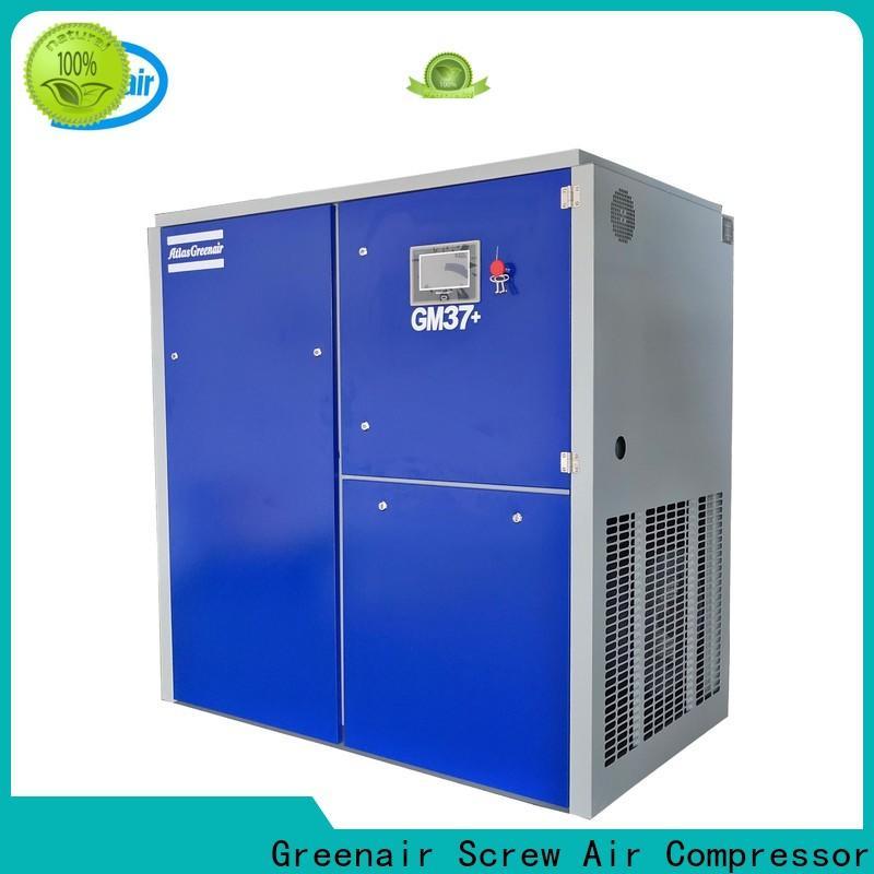 Atlas Greenair Screw Air Compressor variable speed air compressor with a single air compressor customization