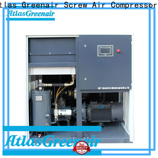 Atlas Greenair Screw Air Compressor new vsd compressor atlas copco with four pole motor customization