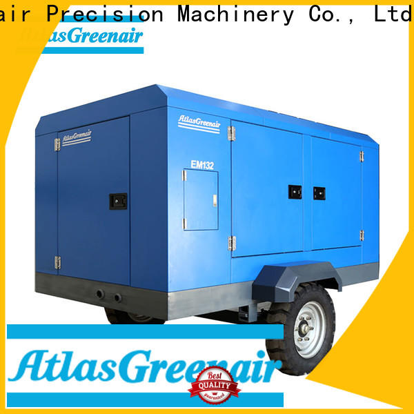 Atlas Greenair Screw Air Compressor professional electric rotary screw air compressor company for sale