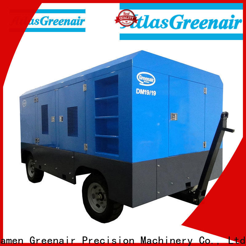 latest mobile air compressor factory design