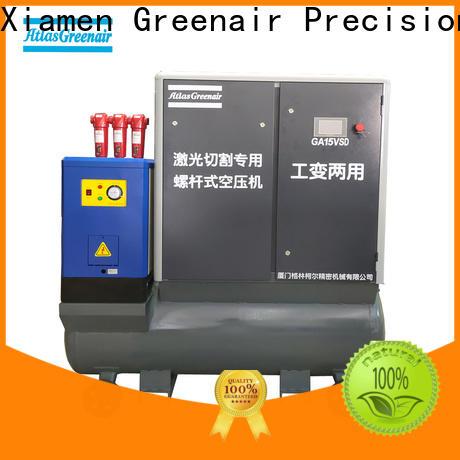 Atlas Greenair Screw Air Compressor professional variable speed air compressor with a single air compressor for sale