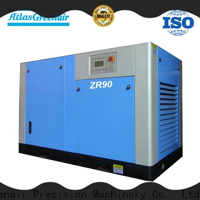 Atlas Greenair Screw Air Compressor efficient oil free rotary screw air compressor factory customization