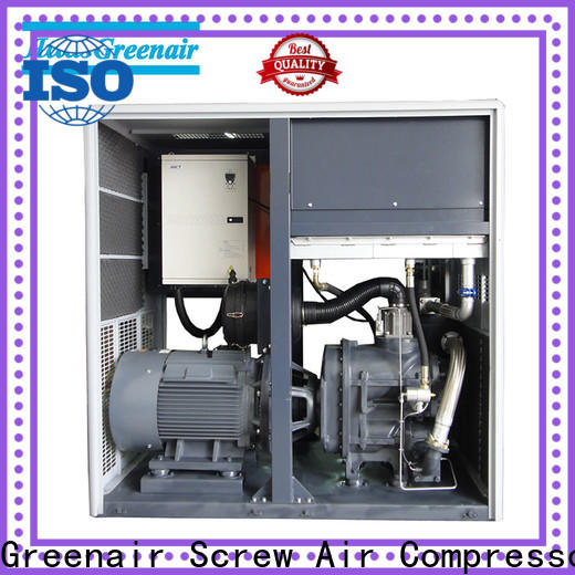 Atlas Greenair Screw Air Compressor best variable speed air compressor with an asynchronous motor for tropical area