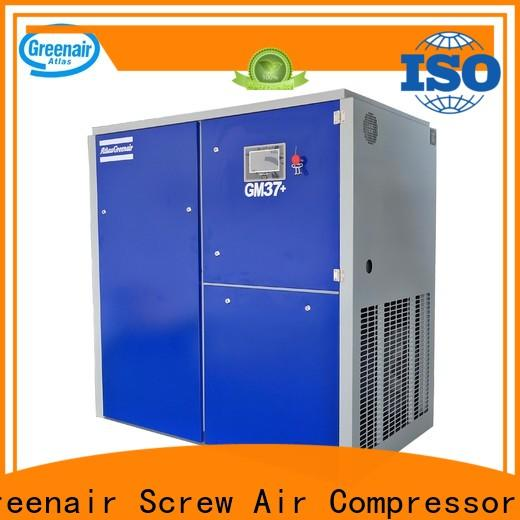 Atlas Greenair Screw Air Compressor professional variable speed air compressor for busniess customization