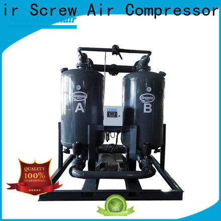 Atlas Greenair Screw Air Compressor adsorption air dryer with a special silencer for sale