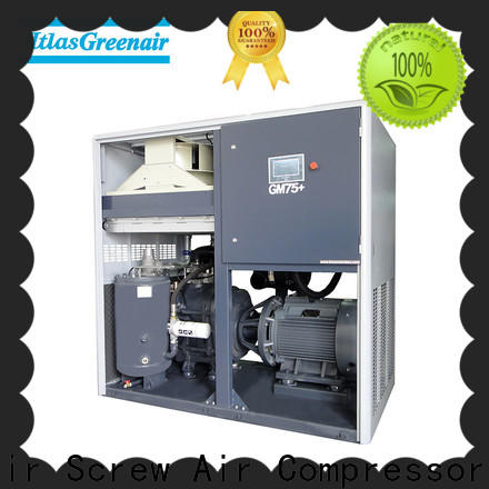 Atlas Greenair Screw Air Compressor high quality vsd compressor atlas copco for busniess customization