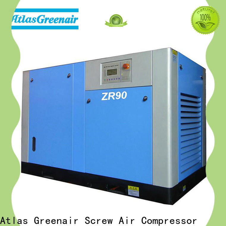 high quality oil free rotary screw air compressor with high efficient air end customization
