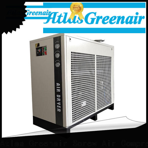 Atlas Greenair Screw Air Compressor air dryer for compressor with a superior electronic drain valve for sale