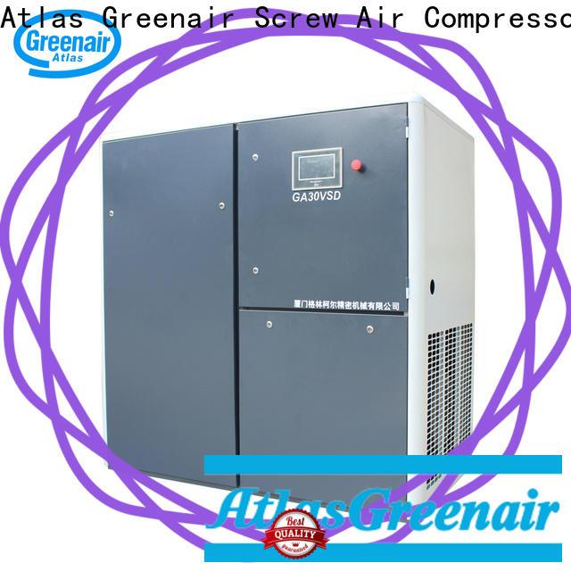 Atlas Greenair Screw Air Compressor vsd compressor atlas copco for busniess customization