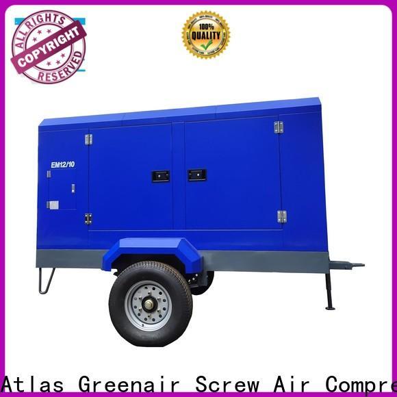 Atlas Greenair Screw Air Compressor wholesale electric rotary screw air compressor with intelligent control system for tropical area