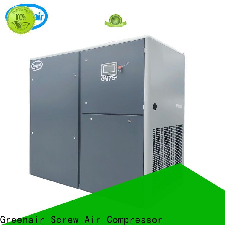 Atlas Greenair Screw Air Compressor custom variable speed air compressor with four pole motor for sale