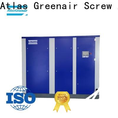 Atlas Greenair Screw Air Compressor customized vsd compressor atlas copco company for sale