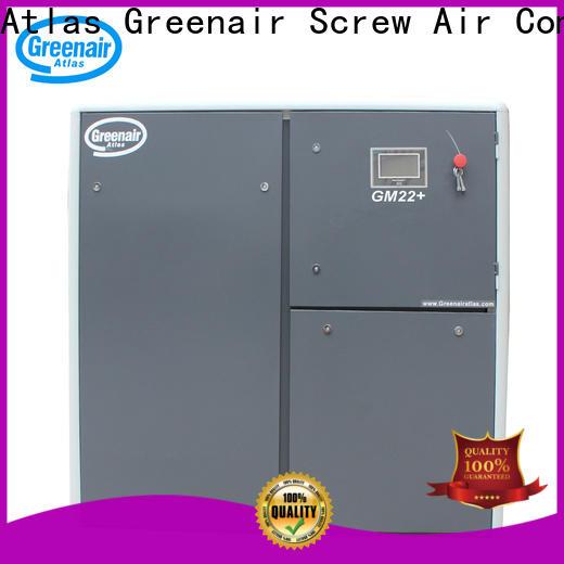 Atlas Greenair Screw Air Compressor cheap vsd compressor atlas copco for busniess customization
