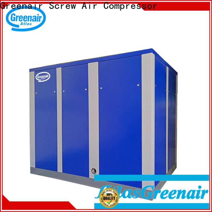 Atlas Greenair Screw Air Compressor latest variable speed air compressor factory for sale