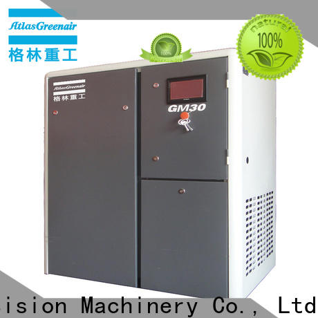 Atlas Greenair Screw Air Compressor latest variable speed air compressor company customization