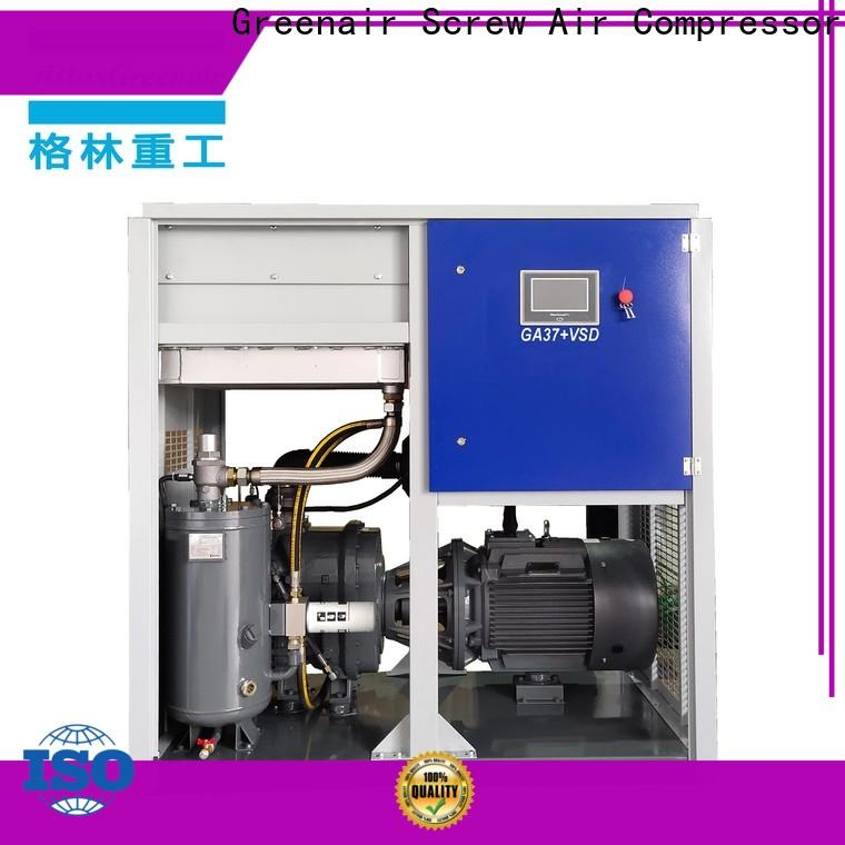 Atlas Greenair Screw Air Compressor two stage vsd compressor atlas copco with four pole motor for tropical area
