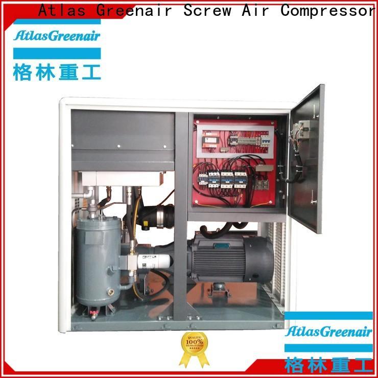 Atlas Greenair Screw Air Compressor custom variable speed air compressor manufacturer for sale