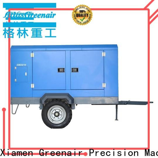 Atlas Greenair Screw Air Compressor portable screw compressor with intelligent control system wholesale