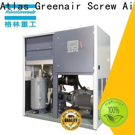 Atlas Greenair Screw Air Compressor fixed speed rotary screw air compressor for busniess for sale