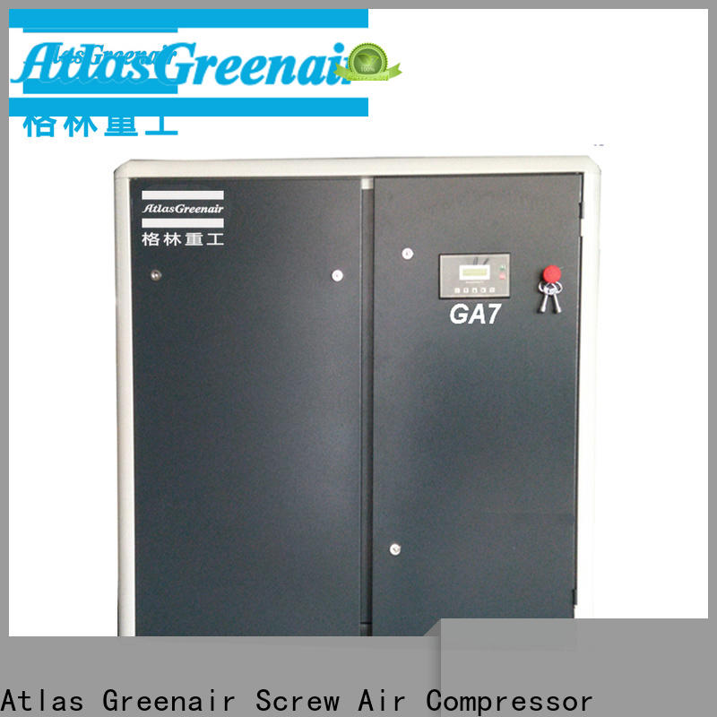 Atlas Greenair Screw Air Compressor best fixed speed rotary screw air compressor for busniess wholesale