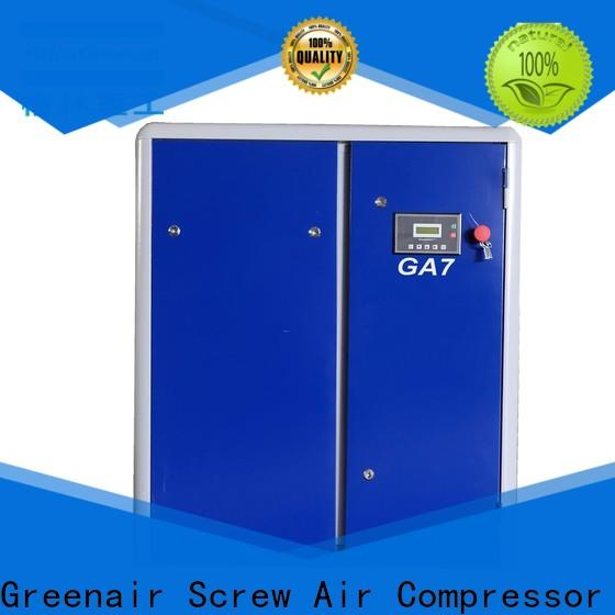 ga fixed speed rotary screw air compressor factory for tropical area