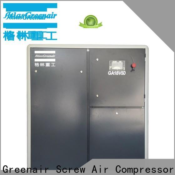 Atlas Greenair Screw Air Compressor variable speed air compressor with a single air compressor for sale