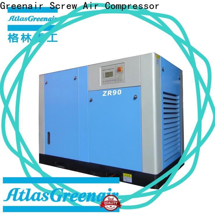 Atlas Greenair Screw Air Compressor popular oil free rotary screw air compressor factory for sale
