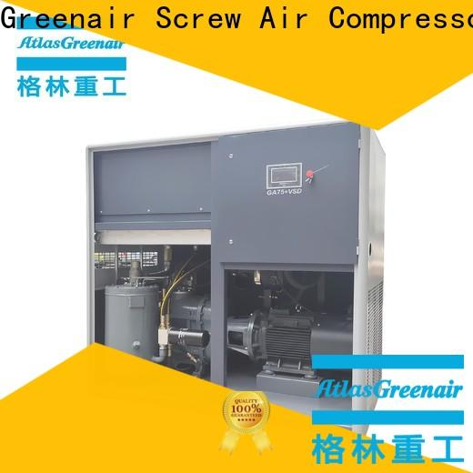 Atlas Greenair Screw Air Compressor variable speed air compressor with a single air compressor for sale