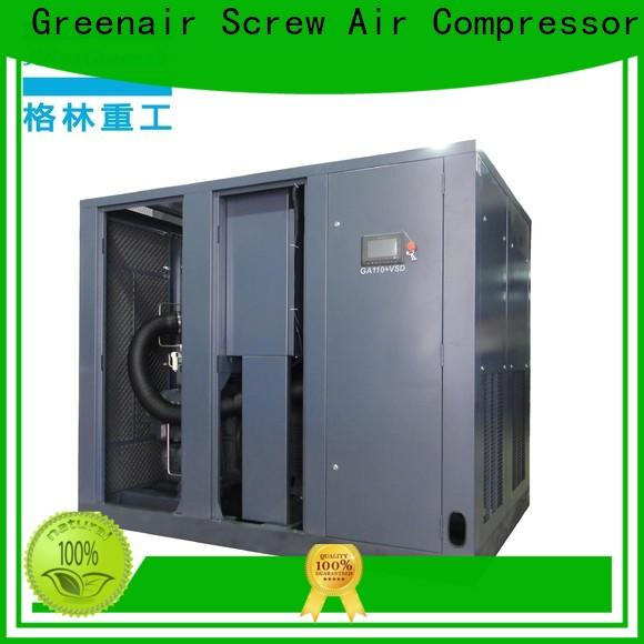 Atlas Greenair Screw Air Compressor new variable speed air compressor with an asynchronous motor for sale