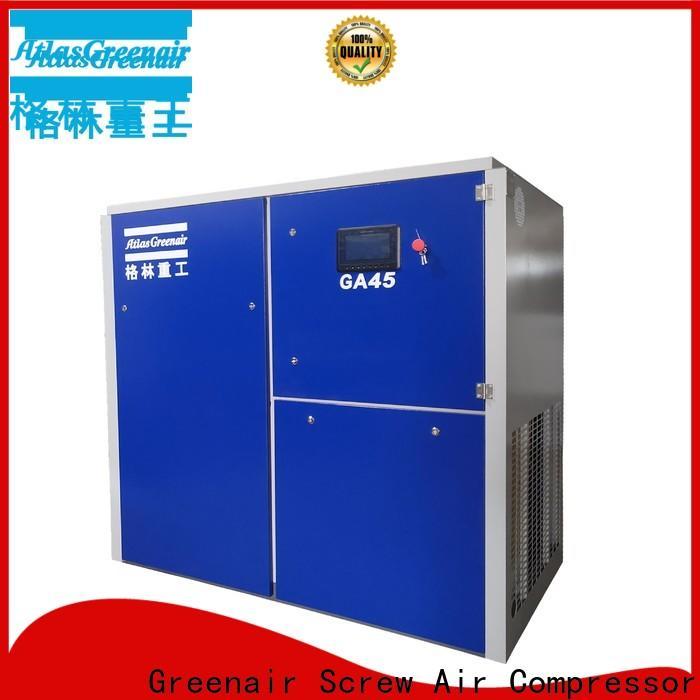 Atlas Greenair Screw Air Compressor best fixed speed rotary screw air compressor company for tropical area