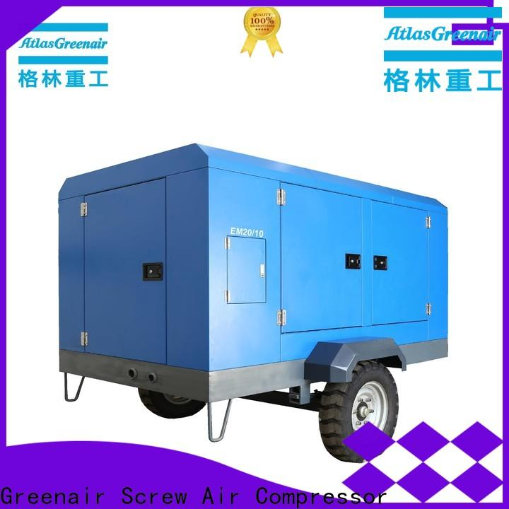 efficient electric rotary screw air compressor easy maintenance for sale