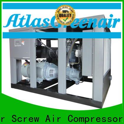Atlas Greenair Screw Air Compressor top variable speed air compressor with a single air compressor for tropical area
