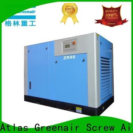 Atlas Greenair Screw Air Compressor high end oil free rotary screw air compressor company for tropical area