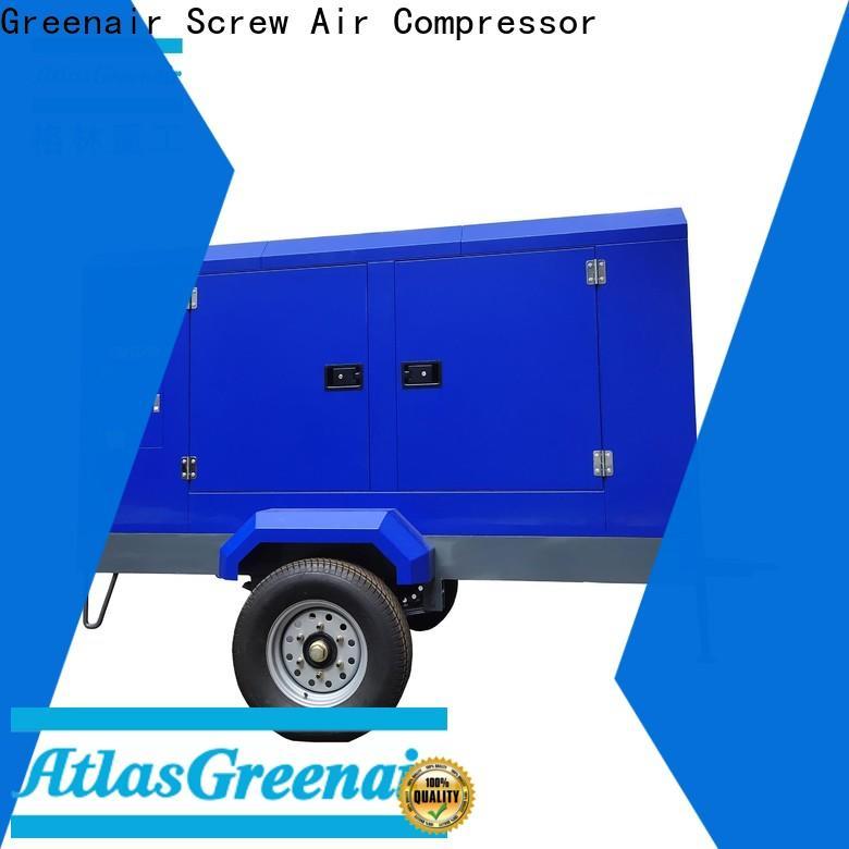 Atlas Greenair Screw Air Compressor top electric rotary screw air compressor easy maintenance for sale