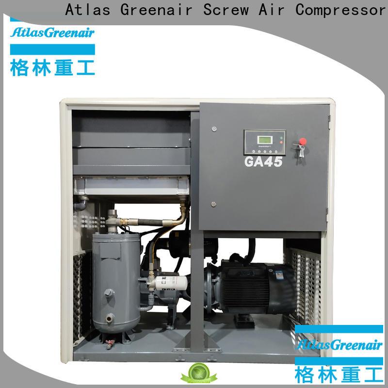 Atlas Greenair Screw Air Compressor atlas copco screw compressor with an oil content for sale